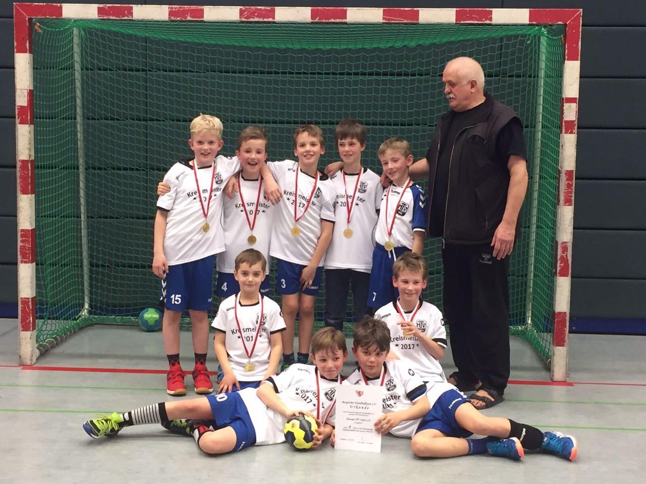 Die Handballabteilung gratuliert